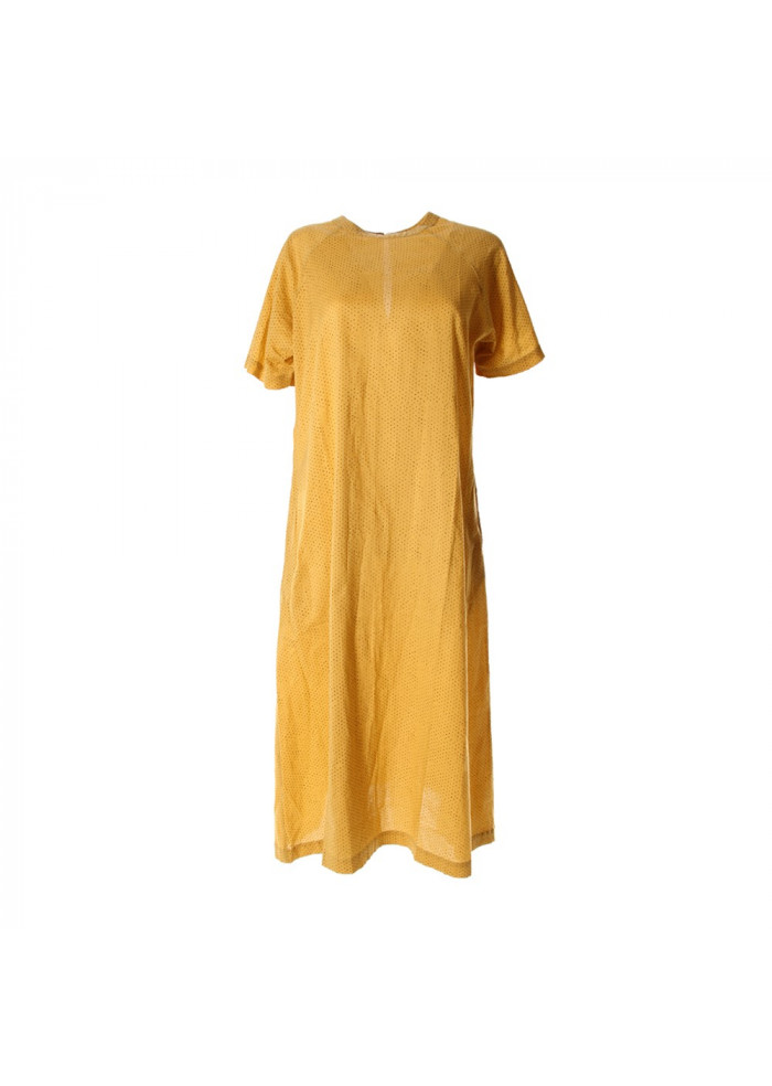 WOMENSWEAR DRESS YELLOW BASILICO